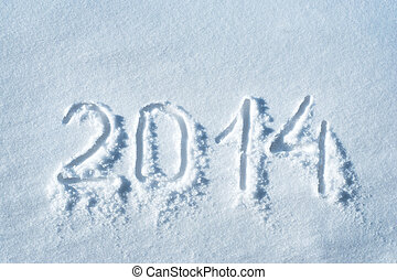 2014 written in snow