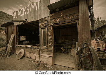 Jerome Arizona Ghost Town saloon - Jerome Arizona Ghost Town...