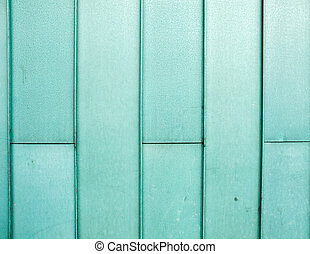 architectural copper cladding - detail of oxidized green...