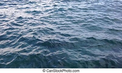 Sea water surface with ripples