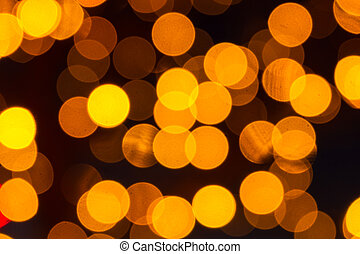 Bokeh Holiday Lights Backgrounds - Abstract circular bokeh...
