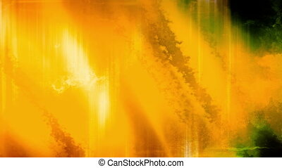 Yellow Streaks Grunge Abstraction Looping Animated...