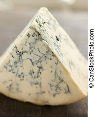 Wedge of English Stilton Cheese