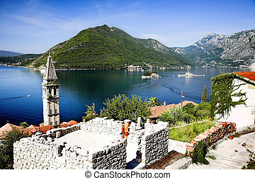Perast city - Perast in the Bay of Kotor