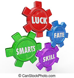 Luck Fate Skill Smarts Four Essential Factors Success -...