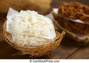 Peruvian Cocadas - Peruvian cocadas, a traditional coconut...