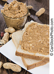 Peanut Butter Sandwich - Fresh made Peanut Butter Sandwich