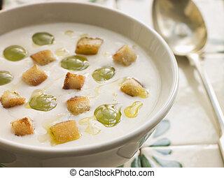 Ajo Blanco- White Garlic Soup