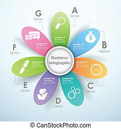 Business Infographics Chart