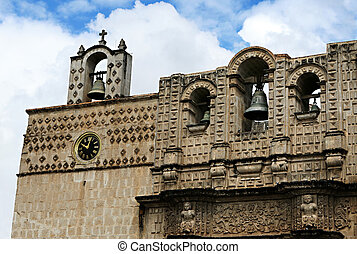Old Bell Tower - An old bell tower in Peru is a beautiful...