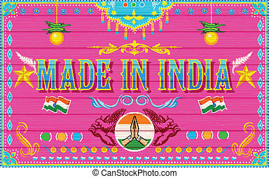 Made in India Background