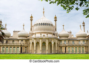 Brighton Pavillion. England - Royal Pavilion in Brighton....