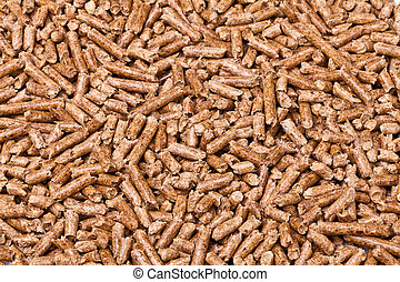 wood pellet - closeup image of wood pellets