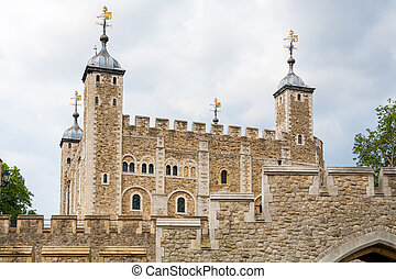 Tower of London England - View of the Tower of London...