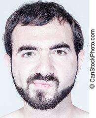 Man with Beard Close Up
