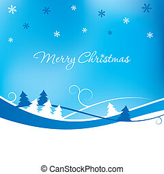 Christmas Background - A Christmas themed background with...