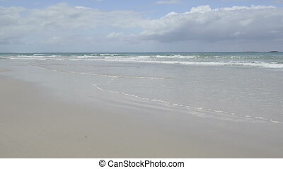 Stradbroke Island - Home Beach on Stradbroke Island,...
