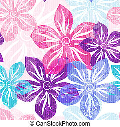 Seamless floral gentle pattern