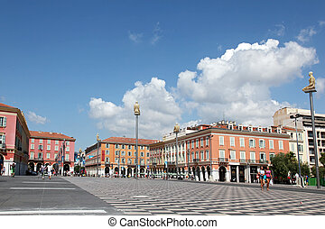 Panoramic Views Of The Place Massena