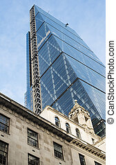 Buildings in city of London - Contemporary Buildings in city...