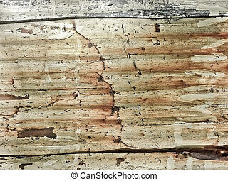 Sheet Iron Damaged Background - Real sheet iron grunge...