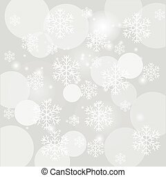 falling snow - colorful illustration with falling snow on...