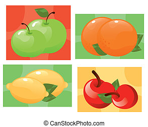 fruits 3 - It is an illustration Eps file