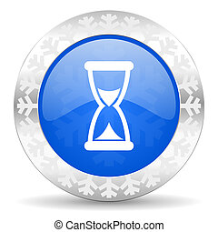 time christmas icon