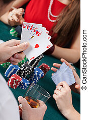 Royal flush in poker game - Royal flush - the...