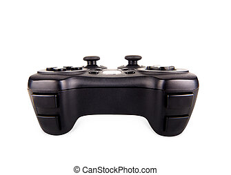 Game pad on white - Game pad isolated on a white background