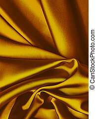 Gold silk background - Rich gold silk background with place...