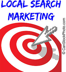 Find Local Search Targeted Marketing - Arrow find Local...