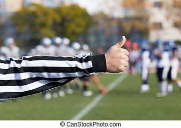 fútbol, árbitro