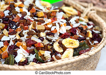 Dried Fruits On The Market