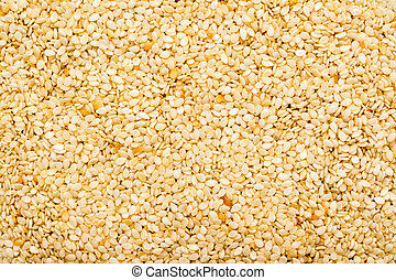 Sesame Seeds Closeup Details Background