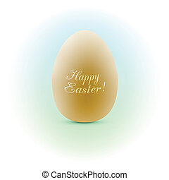 Happy Easter greeting card Vector eps10