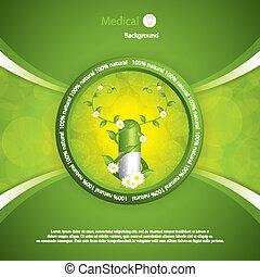 Alternative medication concept