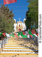 Guadalupe church, San Cristobal de las Casas, Mexico -...
