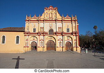 San Cristobal Cathedral, Mexico - San cristobal Cathedral in...