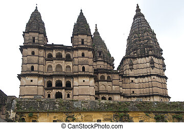 Laxminarayan Temple in Orchha, ancient city in Madhya...