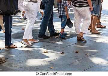 turn on sidewalk - turn on the sidewalk in the city