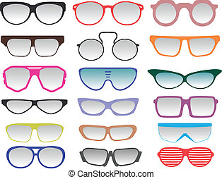 Glasses and Sunglasses collection