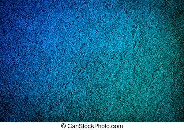 Elegant blue wall background - Faded elegant blue wall -...