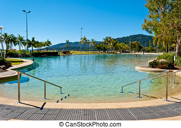 Airlie beach waterfront, Queensland, Australia
