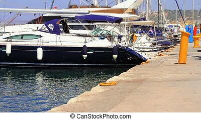 Yachts at berth - Yachts at berth