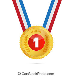 First Place, Gold medal
