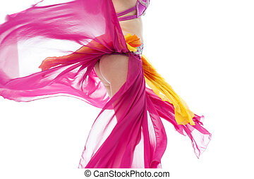 Beautiful exotic belly dancer woman - Beautiful young belly...