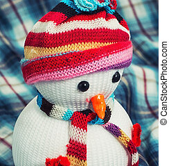 Christmas snowmans - new year baubles and decorations
