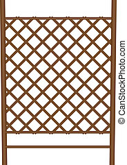 Style garden fence