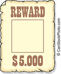 reward 5000 dollars - sepia reward 5000 dollars as nice...